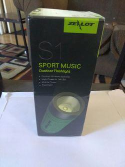 Wireless Bluetooth Speaker 4000mAh Power Bank Stereo Subwoofer Speakers LED Light Outdoor Portable Waterproof Shockproof Dustproof Speakers Thumbnail