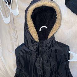 Black Vest Size Medium Thumbnail