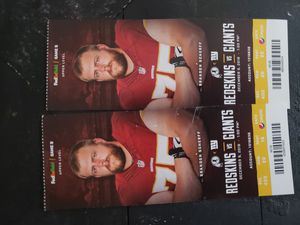 Redskin tickets for Sale in Accokeek, MD