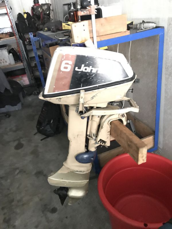 1970 johnson seahorse 6hp outboard boat motor for Sale in Santa Clarita, CA  - OfferUp