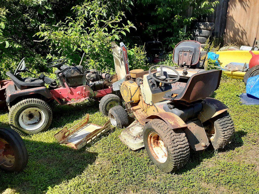 Old tractors scraper needed estate sale all must go make offer