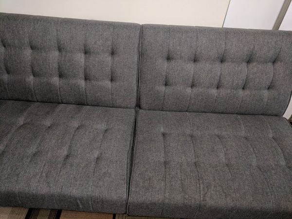 Dhp Emily Convertible Futon Sofa Couch