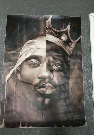 2Pac / B.I.G Poster for Sale in Dallas, TX