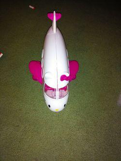 Hello kitty plane Thumbnail