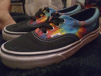 Vans Era Tie Dye Skate Shoes size 5.0 men's Thumbnail