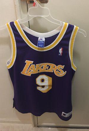 Nick Van Exel authentic Lakers jersey for Sale in Mount Rainier, MD