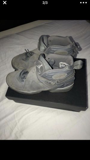 Jordan 8 Cool Grey/ Size 7Y/ $50 - BEST DEAL , FIRST COME FIRST SERVED for Sale in Adelphi, MD