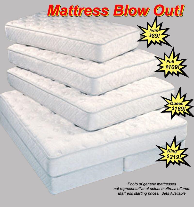 Mattress soft and firm