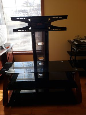 "Tv stand with up 65"" zline design wall mount for Sale in Lynchburg, VA"