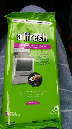 Affresh cooktop cleaning wipes