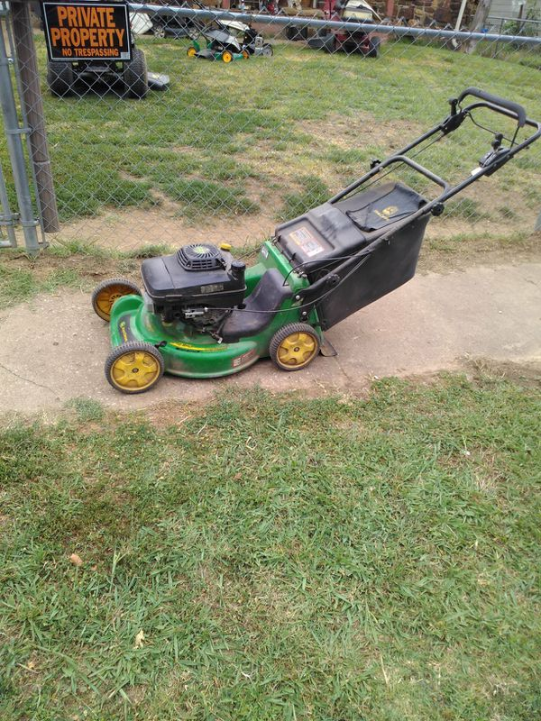 John Deere Self Pro Mower For Sale In Tulsa Ok Offerup