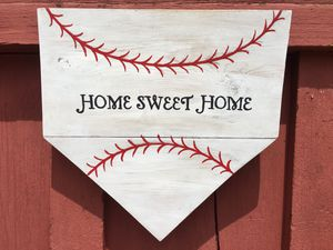 Handcrafted Baseball/Softball Wooden Sign for Sale in Dauphin, PA