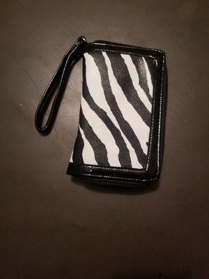 Zebra print wallet for Sale in Farmville, VA