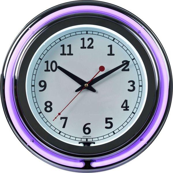 Retro Neon Diner Clock Purple for Sale in Greenwich, CT - OfferUp