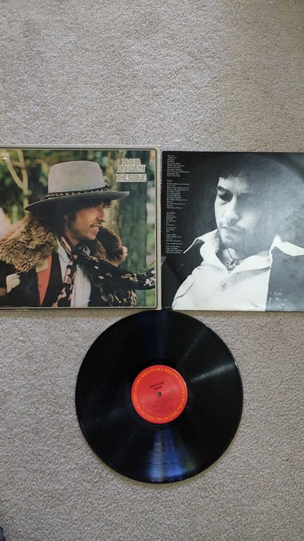LP- Bob Dylan Desire for Sale in Vancouver, WA - OfferUp