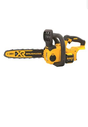 DEWALT DCCS620B 20V MAX Compact Chainsaw (Bare Tool)(battery and charger not included) for Sale in UPR MARLBORO, MD