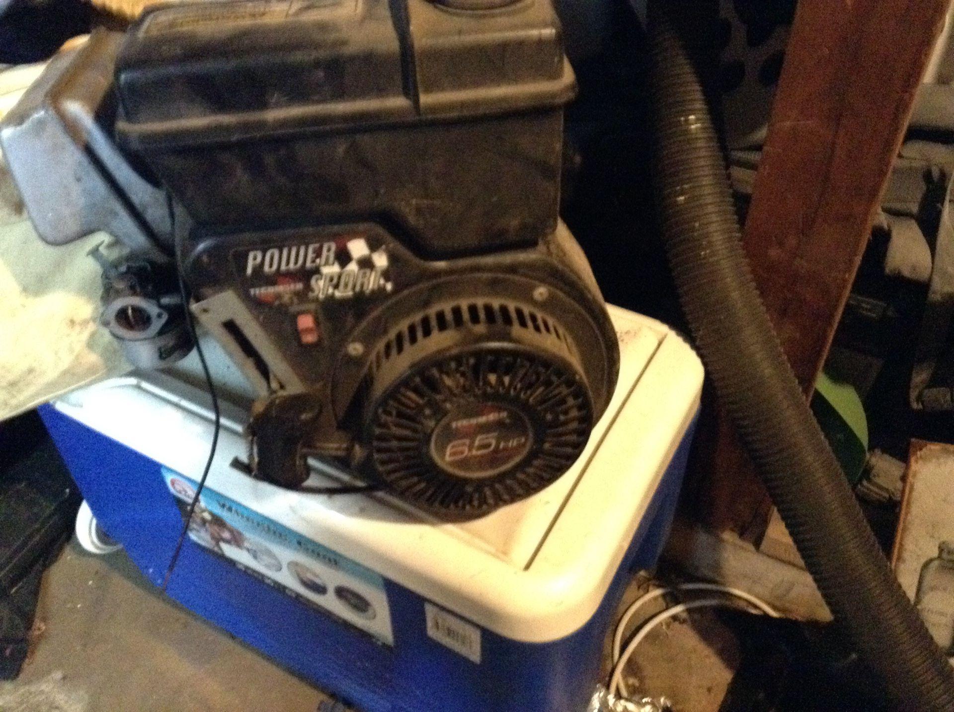 Engine cran