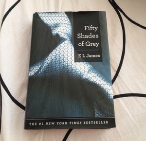 Fifty Shades Of Grey Hardcover Book for Sale in Philadelphia, PA