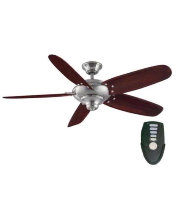 Home Decorators Collection Altura 56 In Indoor Brushed Nickel Ceiling Fan With Remote Control Household Garden Grove Ca Offerup