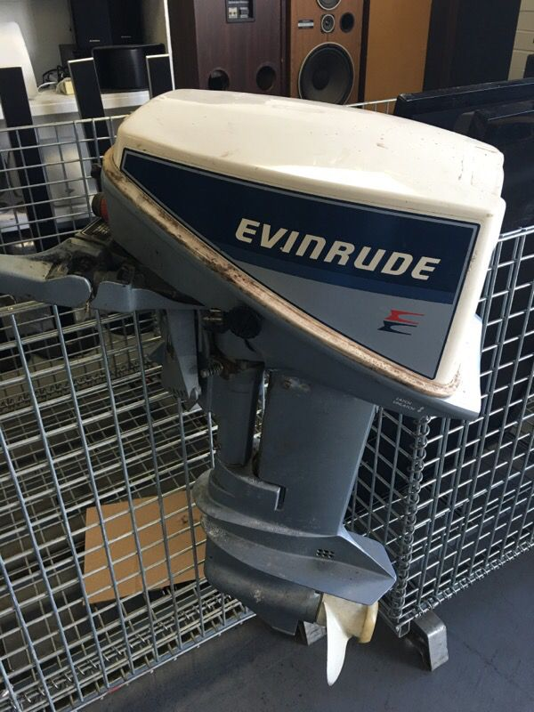 Evinrude 15 HP outboard model E15RCRM for Sale in Kent, WA - OfferUp