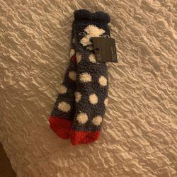 Cozy Fluffy Socks - Doggy/ Boston Terrier Thumbnail