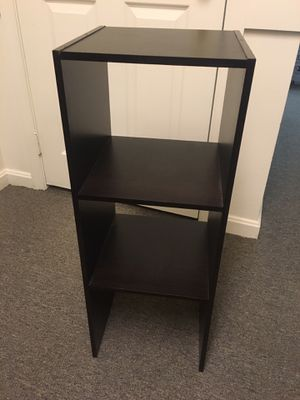 3 cube end table/night stand for Sale in Mount Airy, MD