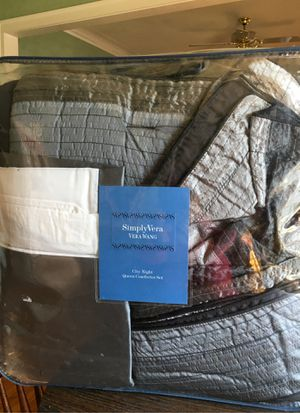 Photo SIMPLY VERA VERA WANG CITY NIGHT COMFORTER SET