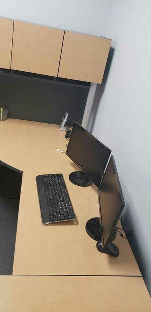 U shaped office desk for Sale in Phoenix, AZ
