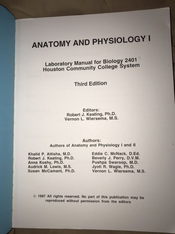 HCC A&P lab book for Sale in Houston, TX - OfferUp