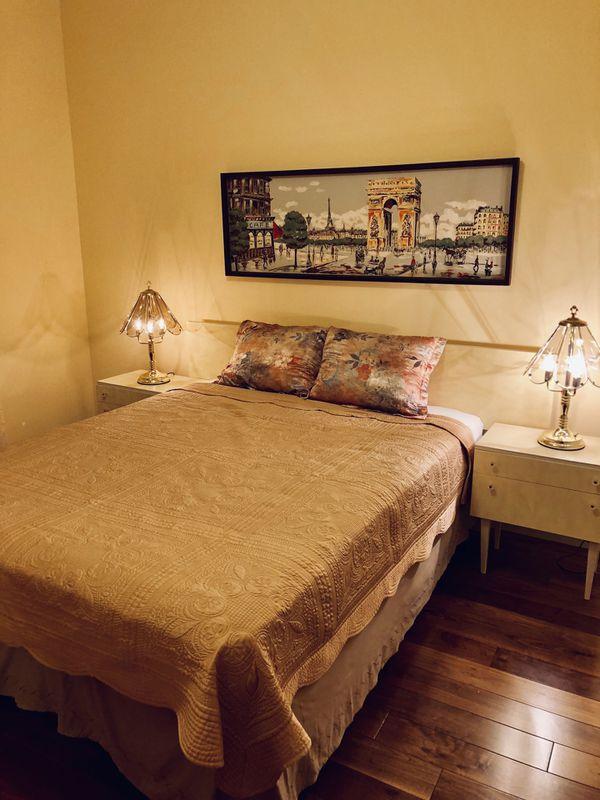 Antique Bedroom Set Queen Mattress For Sale In Mesa Az