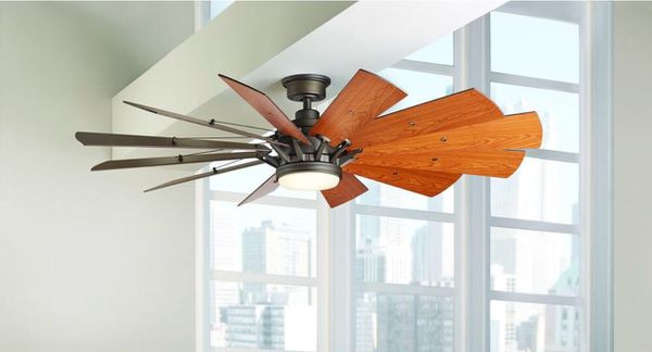Home Decorators Collection Trudeau 60 In LED Indoor Espresso Bronze Ceiling Fan With Remote Control St Louis