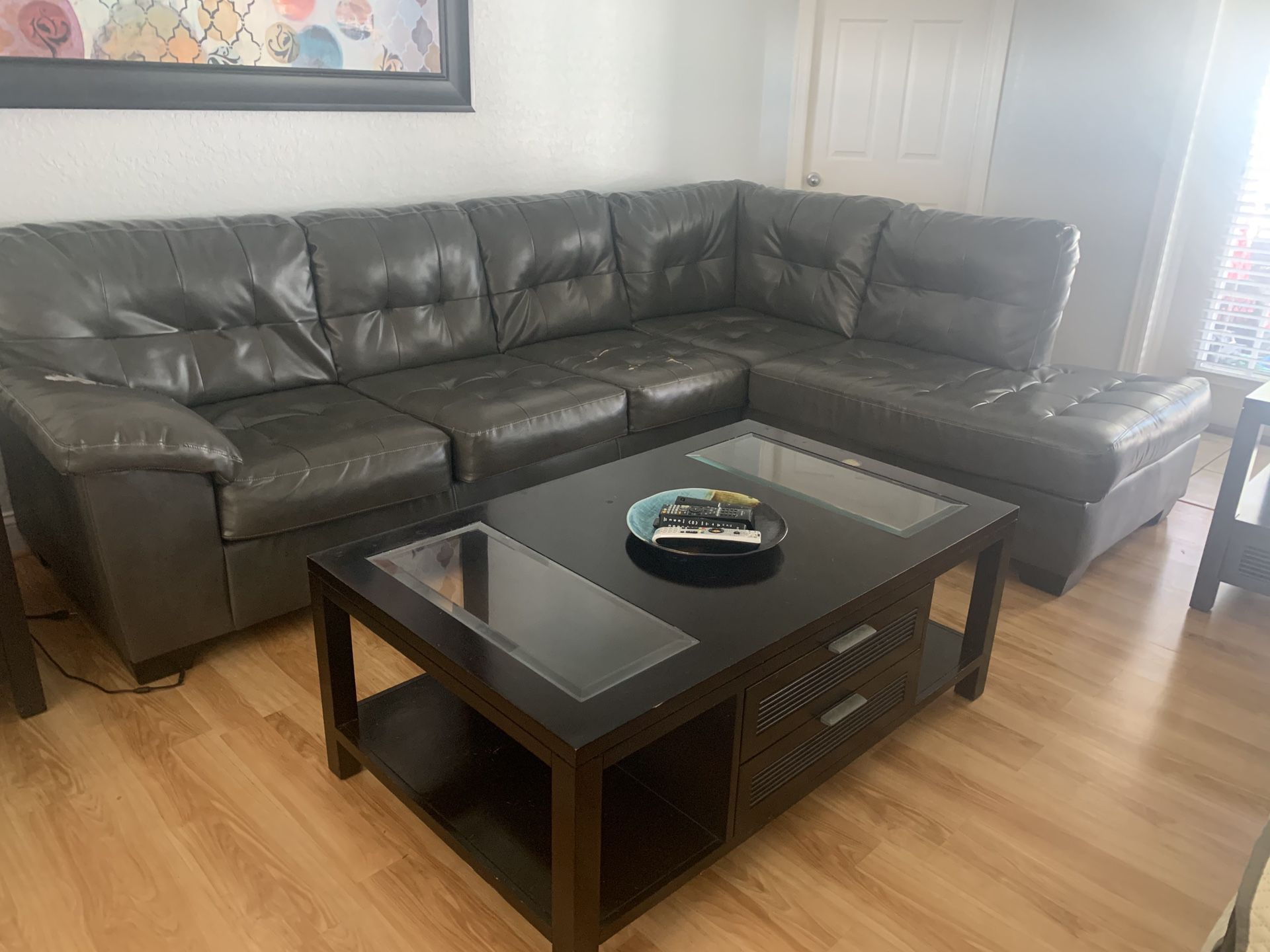 Sofa And Table For Sale