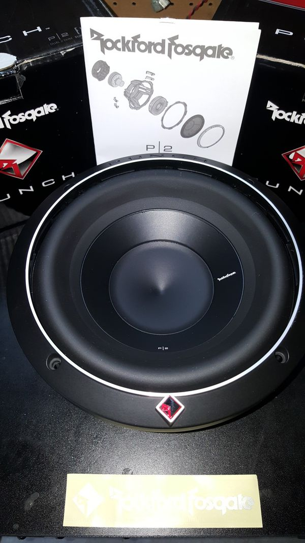 Brand New Rockford Fosgate 8