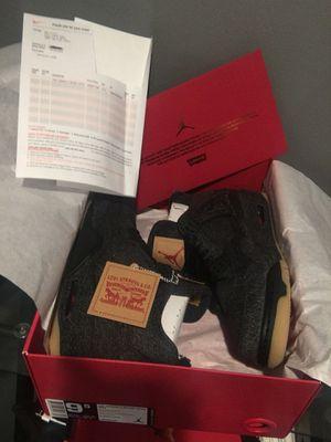 "Air Jordan Retro 4 ""Levis"" NRG size 9.5 for Sale in Springfield, VA"