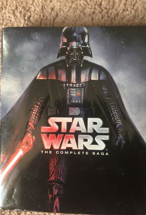 "Star Wars The Complete Saga ""Like New"" for Sale in Apex, NC"