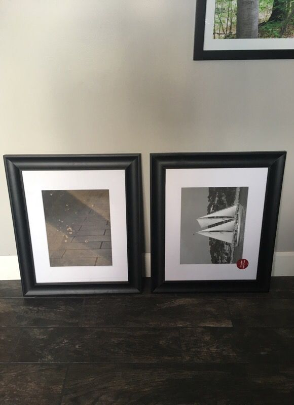 16x20 matted to 10x14 black frames (Household) in Mesa, AZ - OfferUp