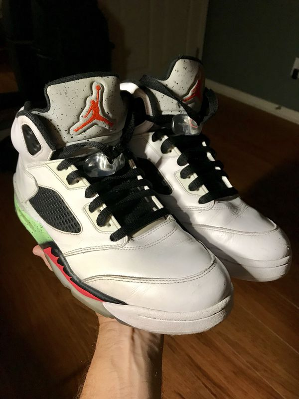 best service 09558 1f254 Nike Air Jordan 5 Retro Space Jam Pro Stars Shoes