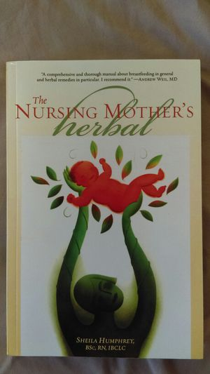 The Nursing Mother's Herbal, BOOK. for Sale in Portland, OR