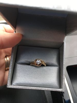 Diamond wedding set for Sale in Bowie, MD