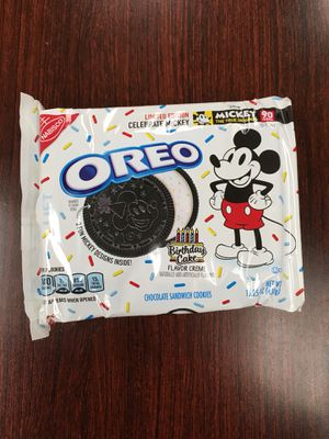 LIMITED EDITION MICKEY MOUSE OREOS for Sale in Bothell, WA