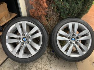 "Photo Bmw 17"" 325i rims with tires"