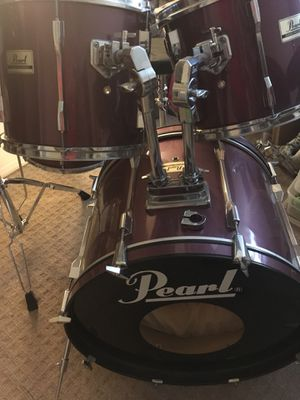 Pearl export pro series drum set, snare and cymbals for Sale in Sterling, VA