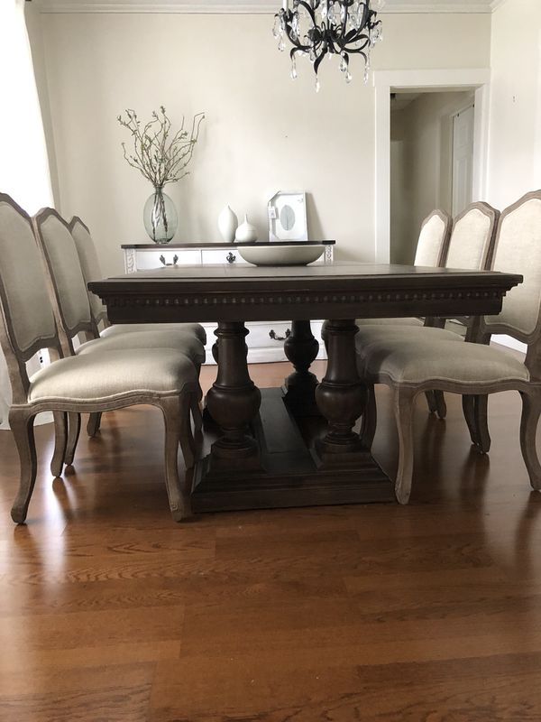 Restoration Hardware St James 72 Dining Table With 2 Extensions No Chairs For In Methuen Ma Offerup