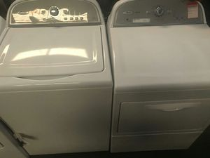 Whirlpool Cabrio Top Load Washer and Dryer Set- WARRANTY for Sale in Atlanta, GA
