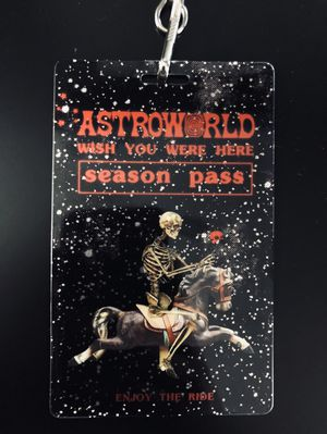 Travis Scott Astroworld Season Pass for Sale in Sterling, VA