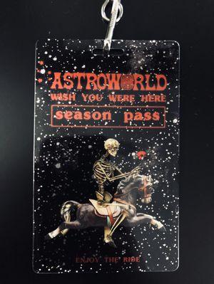 Travis Scott Astroworld Season Pass for Sale in Sterling, VA
