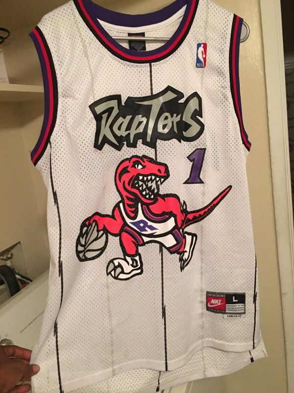best service d62fb cf39c Throwback raptors TMac jersey for Sale in Columbus, OH - OfferUp