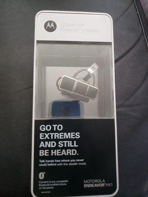 Motorola Endeavor HX1 Bluetooth for Sale in Fairfax, VA