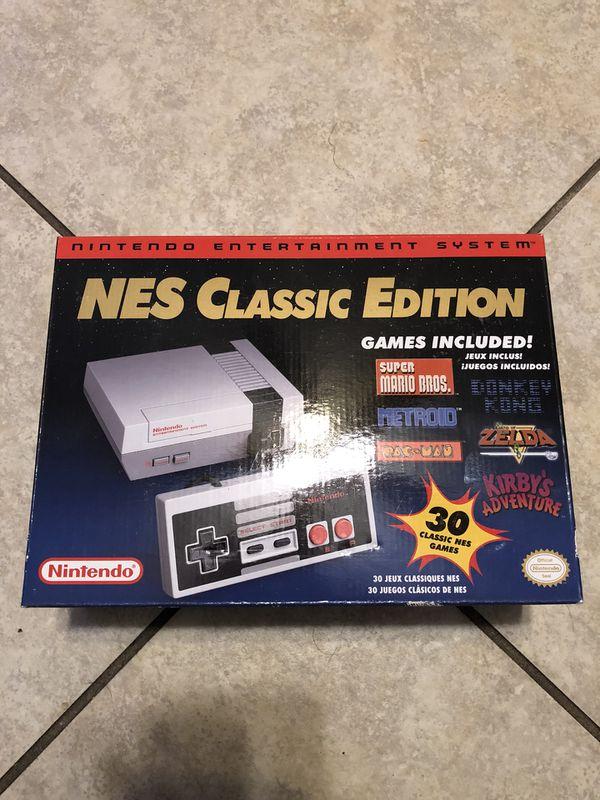 Nintendo Nes Classic Edition For Sale In Rialto Ca Offerup