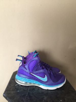 LeBron 9 Summit Lake Hornets size 7 for Sale in Riverdale Park, MD